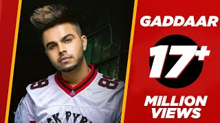 Gaddaar (Official Video) | Akhil ft Ikka | BOB | Latest Punjabi Songs 2019