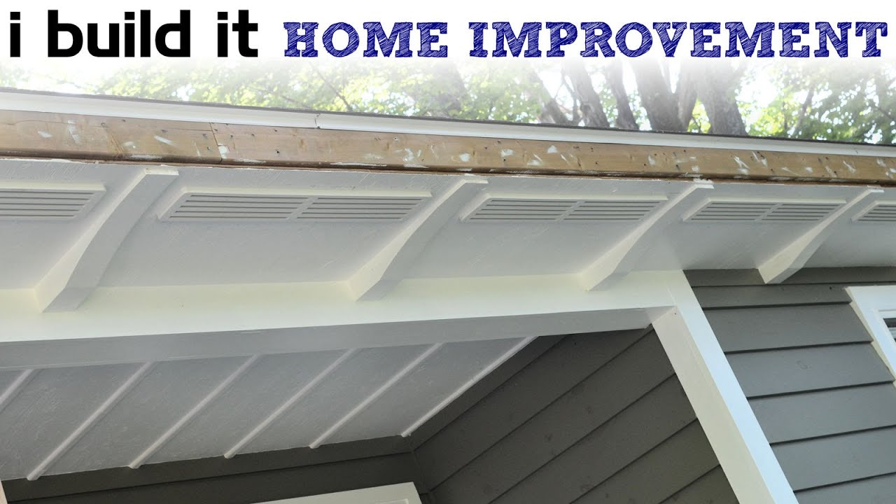 How To Make And Install Wooden Soffit Vents Youtube