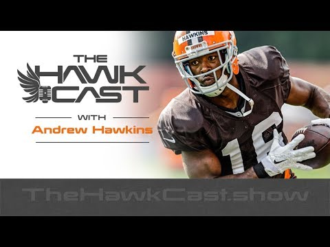 Andrew Hawkins: Never Short on Courage, Retired NFL Receiver - The HawkCast