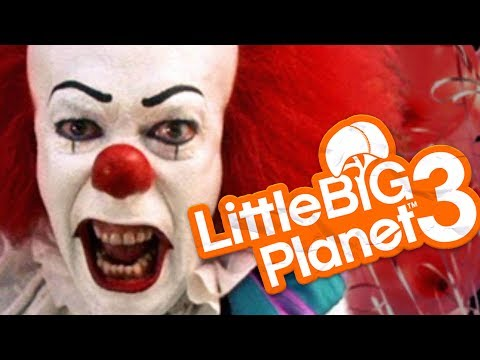 LittleBigPlanet 3 - EVIL CLOWN DOLL! - Little Big Planet 3