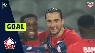 Goal Yusuf YAZICI (29' - LOSC LILLE) LOSC LILLE - DIJON FCO (1-0) 20/21