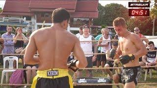 Wild Boxer vs Poland puncher !!! Super fight !!!!