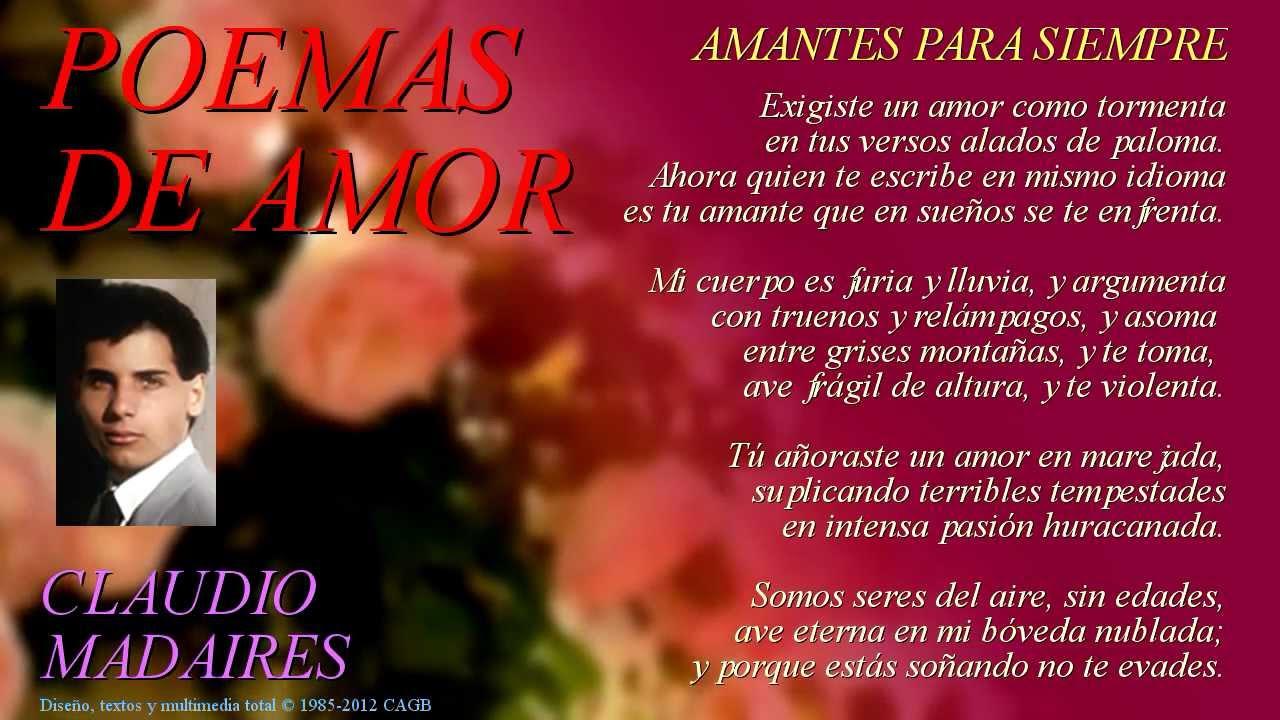 Amantes Para Siempre Sonetos De Amor Poemas De Amor