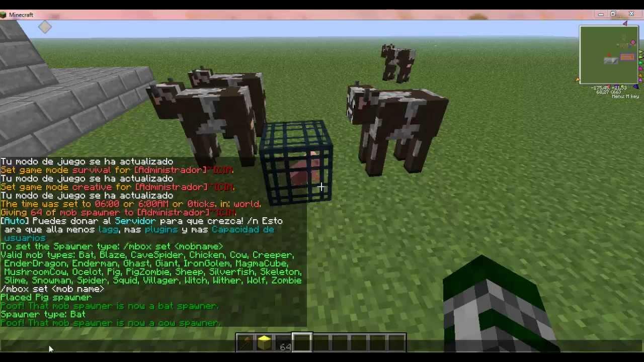 Como poner spawn en un servidor mi minecraft de diferentes - Como poner una mosquitera ...