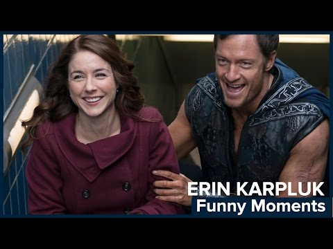 RIFTWORLD CHRONICLES: Erin Karpluk Talks About Funny Moments on Set