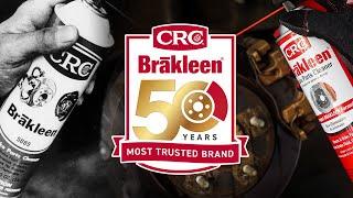 Celebrating 50 Years of CRC BRAKLEEN® Brake Cleaner