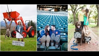 20 Amazing Save the Date Ideas |  Couples Photography