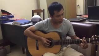 Giấc mơ Chapi | Guitar covered by Thượng uý Bảo :))