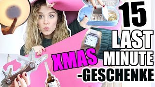 15 last-minute WEIHNACHTSGESCHENK IDEEN für Faule + Cluse Verlosung! ♡ BarbaraSofie