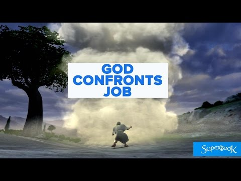 God Confronts Job