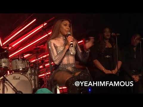 Tamar Braxton Live In Concert At Sony Hall In NYC