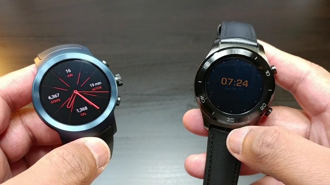 huawei watch 2 classic. lg watch sport vs huawei 2 classic (the winner is ______)