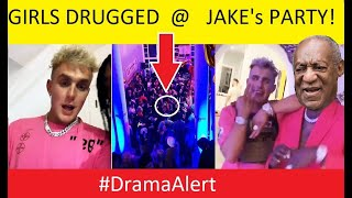 Girls DATE R4PE DRUGGED at Jake Paul's Party! (FOOTAGE) #DramaAlert KSI disowns DEJI in Interview!
