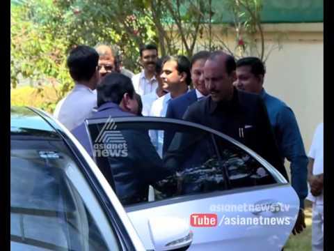 Controversial middleman Nandakumar spotted with Gautam Adani's team