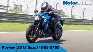 Suzuki GSX-S750 Review - Best Middle-Weight For India? | MotorBeam