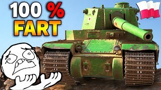 100% FART - POLSKA vs TURCJA - World of Tanks