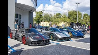 Exotics and Espresso World's Best Exotic cars at Prestige Imports - Most Expensive Supercar Showroom