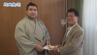 先月の大相撲名古屋場所で千秋楽まで優勝を争い、11勝4敗で2度目の敢...
