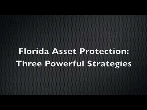 Three Powerful Asset Protection Strategies