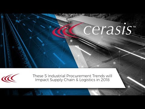 Talking Freight (44) - 5 Industrial Procurement Trends will Impact Supply Chain & Logistics in 2018