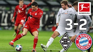 Incredible comeback! Gladbach turns match | Gladbach - Bayern München | 3-2 | MD 15 2020/21