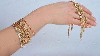 Золотые Женские Браслеты на руку - фото - 2017 / Gold Women's bracelet on his hand - Photo(, 2016-01-02T09:43:00.000Z)