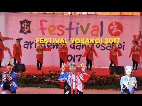 Festival Tari Remo dan Yosakoi Surabaya | Kochi Yosakoi Dance