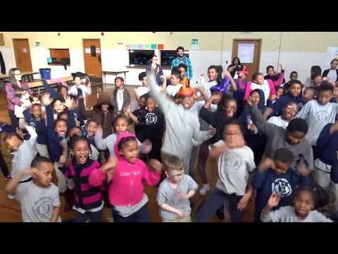 SMILEY SCHOOL SHOW - DETROIT ACHIEVEMENT ACADEMY - SMILEY THE HIP HOP CLOWN