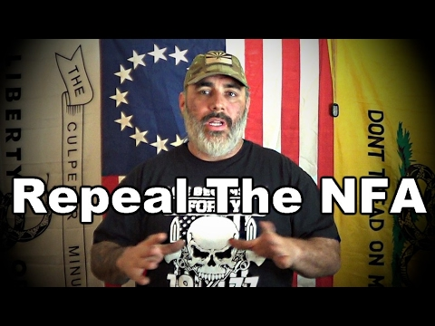Petition To Repeal The NFA