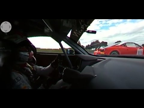 360° onboard Christopher Haase Audi R8 LMS Sainteloc Blancpain GT official Test Day Paul Ricard 2016