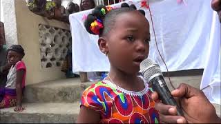 Interpellation aux parents négligents par la petite Ruth Yanga d'une école maternelle HPP-Congo