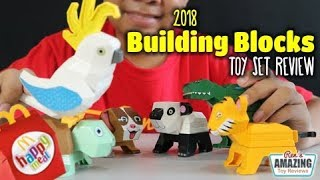 2018 Mcdonalds PH Happy Meal Building Blocks toy set Review