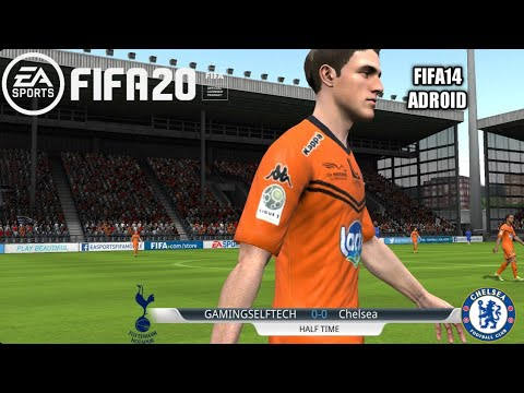 FIFA 14 MOD FIFA 20 Android Offline 900 MB New Menu Face & Transfers Update Ps4 Graphics Season 2020