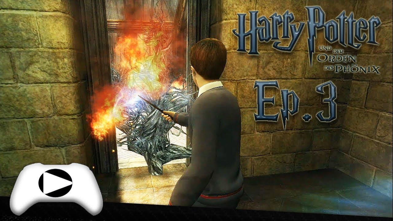 Harry Potter e a Ordem da Fênix #3 Incêndio! - (DUBLADO em Português PT-BR) PC GAMEPLAY