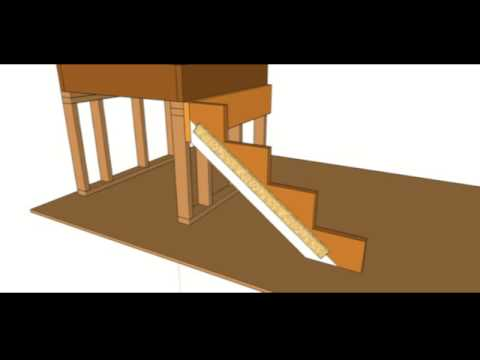 How To Strengthen 2 X 8 Stair Stringer U2013 Construction And Building Tips