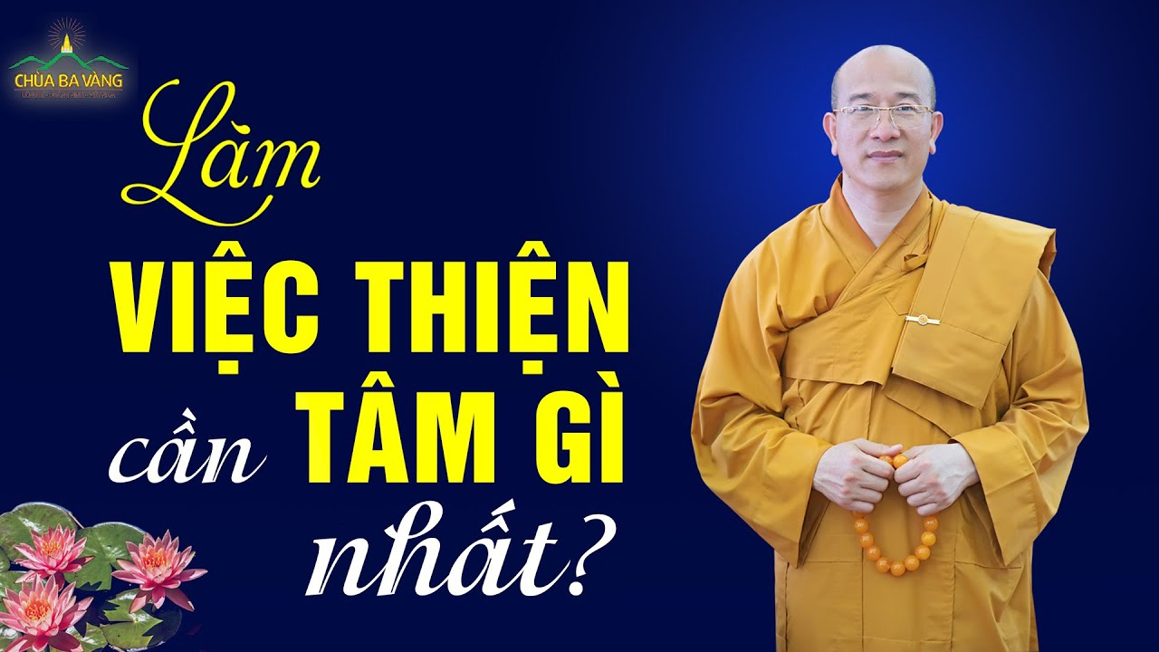 Làm Việc Thiện Mà Quên Mất Điều Này Thì Vẫn Là Thiếu Sót | Thầy Thích Trúc Thái Minh
