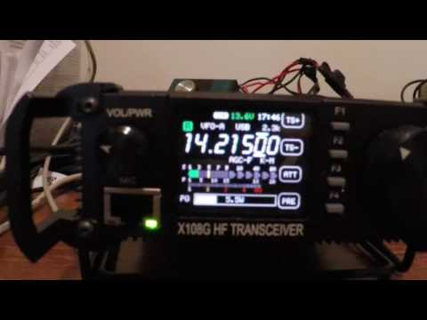 QRP Mobile with the Xiegu X108G    by QRP HF radio