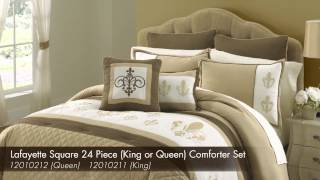 Lafayette Square 24 Piece Comforter Set - 12010212 (Queen) 12010211 (King)