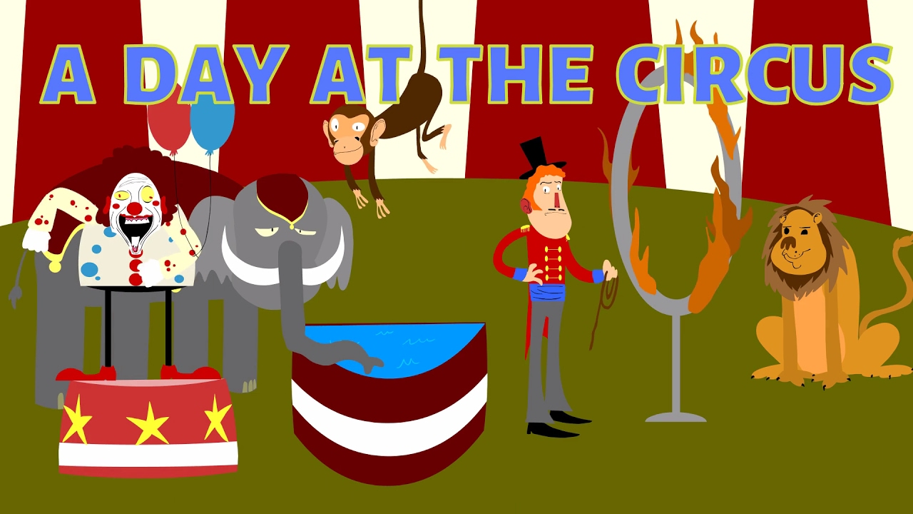 Uncategorized Circus Images For Kids a day at the circus for kids learn fun cartoon children