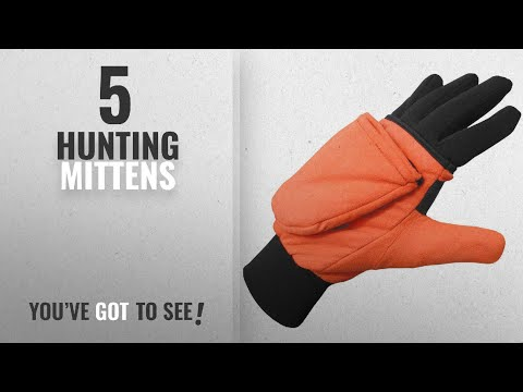 Top 10 Hunting Mittens [2018]: Heat Factory Gloves With Pop-Top Mittens, With Hand Heat Warmer
