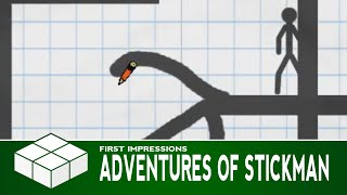 Adventures of Stickman | PC Gameplay & First Impressions
