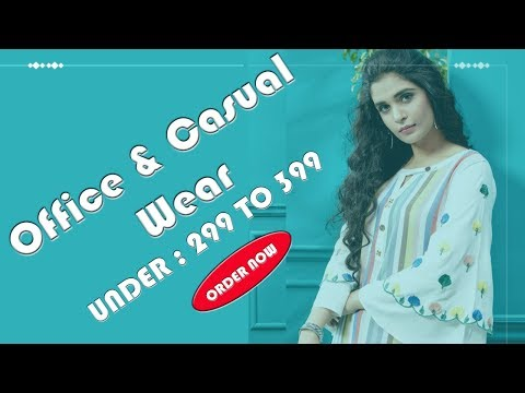 Office & Casual Wear Under: 299 to 399 || #Geeta_Tex || #Ambika_Kurtis || Surat ||