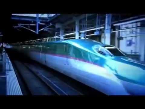 EL NUEVO TREN BALA DE JAPÓN - Increíble adelanto de la tecnología.....!