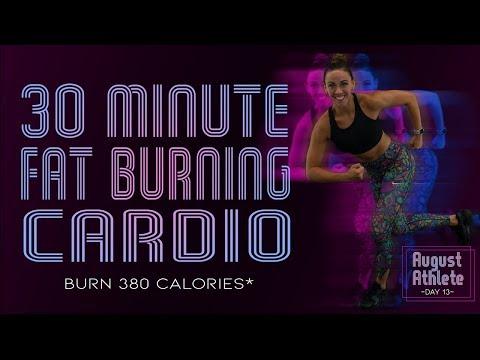 30 Minute FAT BURNING CARDIO WORKOUT! 🔥Burn 380 Calories!* 🔥Sydney Cummings