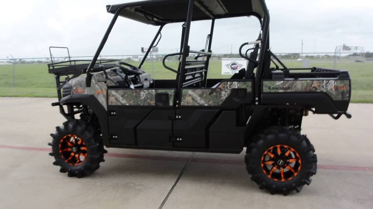 $18,399: 2016 Kawasaki Mule Pro FXT EPS Camo with Lift, OX Rack and More!