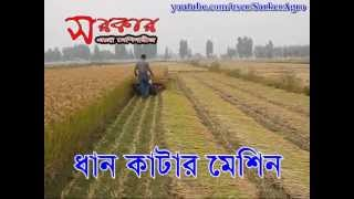 Paddy Rice Cutter Machine