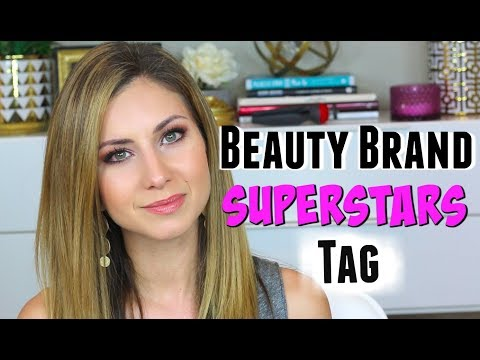 Beauty Brand SUPERSTARS Tag | Stand Out Makeup Products
