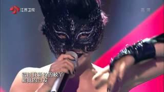 黑天鵝《千年之戀》— 江蘇衛視 蒙面歌王20150726 thumbnail