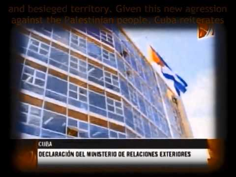 A Glance at Cuba and Venezuela's Friendship with Palestine