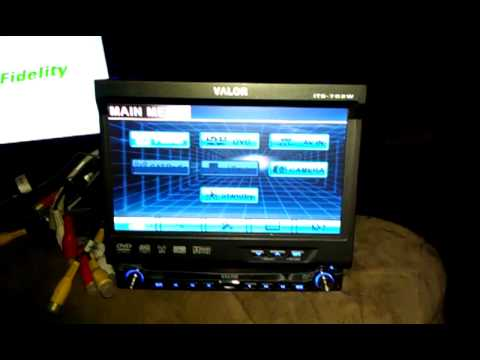 Valor Jensen Its 702w Touchscreen Flip Out Tv Radio